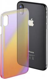 Hama Mirror do Apple iPhone X żółto-różowe (001813960000)