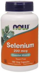 NOW Foods Selenium 100mcg 100 tabletek
