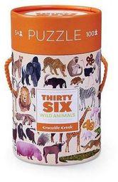Crocodile Creek Puzzle 100 el. - Zwierzęta swiata