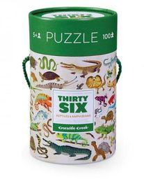 Crocodile Creek Puzzle 100 elementów Gady i płazy