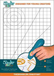 3Doodler 3DOODLER START DoodlePad Podkładka do długopisu (3DSPA)