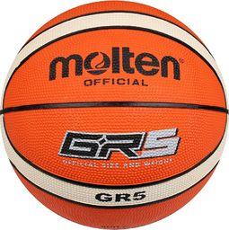 Molten Piłka do koszykówki GR5 pomarańczowa r. 5 (BGR5)