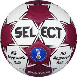 Select Piłka ręczna Qatar biała r. 3 (1832858177)