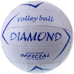 Sportech Piłka siatkowa Diamond biała r. 5 (8271/01/02)