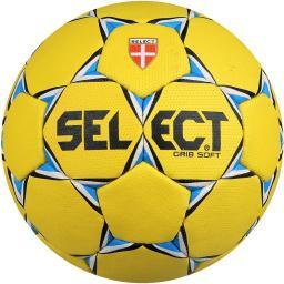 Select Piłka ręczna Grip Soft żółta  (3870847870)
