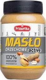 Primavika Primavika Masło Orzechowe Active 100% orzech 470g - PRV/014