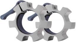 inSPORTline Olimpijski aluminiowy zacisk na gryf CL-21 50mm Srebrny (12715-2)