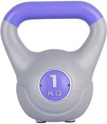 inSPORTline Kettlebell Vin-Bell szary 1 kg (16766)