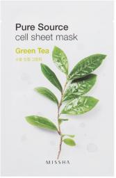 Missha Pure Source Cell Sheet Mask (Green Tea) 21 g