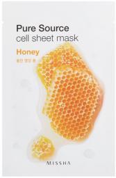 Missha Pure Source Cell Sheet Mask (Honey) 21 g