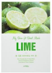 Apieu Skin- Fit Sheet Mask (Lime) 25 g