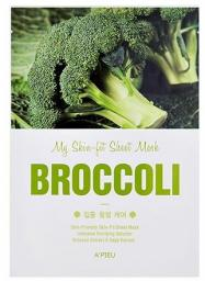 Apieu Skin- Fit Sheet Mask ( Broccoli) 25 g