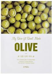 Apieu Skin- Fit Sheet Mask ( Olive ) 25 g