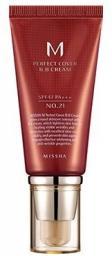 Missha M Perfect Cover BB Cream SPF42/PA+++  21 Light Beige  50ml