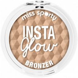 Miss Sporty Bronzer do twarzy Insta Glow Bronzer 001 Sunkissed Blonde 5g