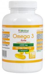 MYVITA Omega 3 Forte 1000 mg 120 kapsułek