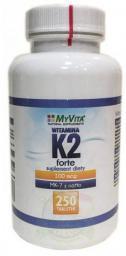 MYVITA K2 Forte MK-7 z natto 120 tabletek