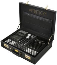 Ambition Ambition Verona sztućce 72 elementy walizka (DAJASZ00355)