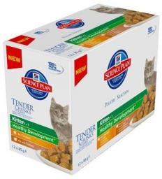 Hills  Feline Kitten Multipak Chicken + Turkey Healthy Development saszetka 12x85g