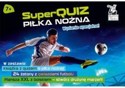 SuperQuiz. Piłka nożna. Wydanie specjalne (pakiet)