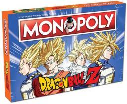 Winning Moves Monopoly Dragon ball Z wersja angielska (265611)