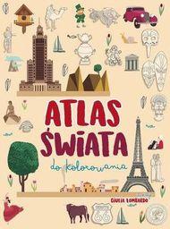 Atlas świata do kolorowania - 265448