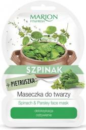 Marion  Fit & Fresh Maseczka do twarzy Szpinak+Pietruszka  9g