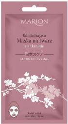Marion Japoński Rytuał Maska na twarz odmładzająca na tkaninie 17g