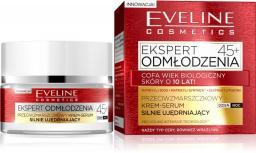 Eveline Ekspert Odmłodzenia 45+ Krem-serum silnie ujędrniający na dzień i noc  50ml