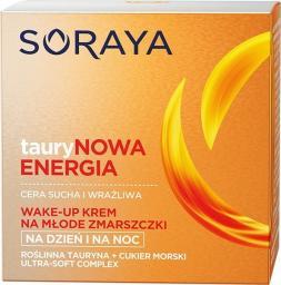 Soraya Taurynowa Energia Wake-Up Krem do twarzy (cera sucha i wrażliwa) 50ml