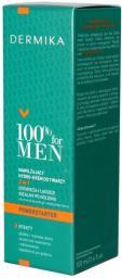 Dermika 100% for Men Nawilżający hydro-krem do twarzy 2w1  100ml