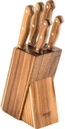 Lamart Zestaw 5 noży LT2080 w bloku Wood Lamart