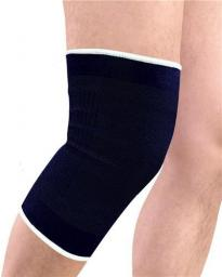 EB FIT Ściągacz elastyczny na kolano 2 szt. czarna