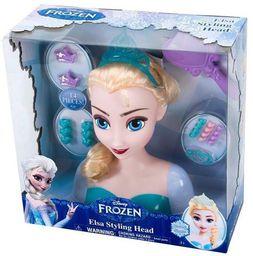 Just Play Kraina Lodu Elsa głowa do stylizacji - 261823