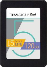 Dysk SSD Team Group L5 Lite 3D 120GB SATA3 (T253TD120G3C101)