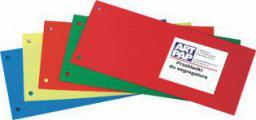 ART-PAP Przekładki 1/3 A4 , czerwone (APA013B)
