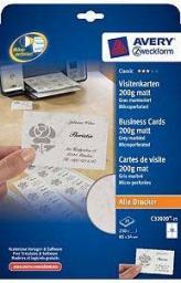 Avery Zweckform papier wizytówkowy 85x54mm (C32020-25)