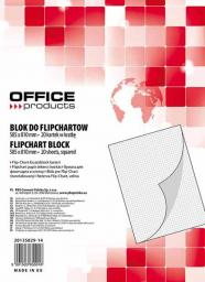 Blok OFFICE PRODUCTS do Flipchart 58.5 x 81cm. 20 kartek   (20135829-14)