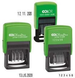 Colop datownik colop mini S120 (S120CYFR.GREEN)