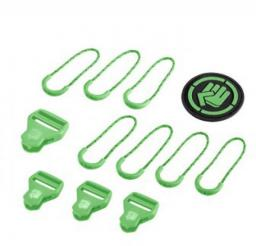 Hama COOCAZOO zestaw elementów wymiennych Classic, Irish Green do plecaków z systemem MatchPatch (001391660000)