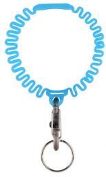 Nite Ize Elastyczna opaska Key Band-It z brelokiem do kluczy niebieski (KWB-03-R6)