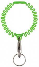 Nite Ize Elastyczna opaska Key Band-It z brelokiem do kluczy limonkowy (KWB-17-R6)