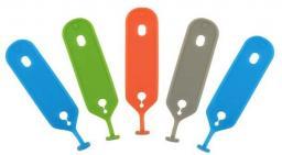 Nite Ize Zestaw znaczników do kluczy IndentiKey mix kolorów 5 sztuk (IKCT-A1-5R7)