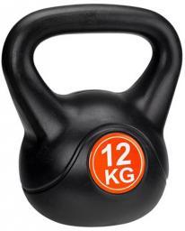 Avento Kettlebell 12 kg czarno-pomarańczowy (41KE)