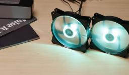 Cooler Master WENTYLATOR DO ZASILACZA/OBUDOWY COOLER MASTER MASTERFAN 121 LITE RGB LED - R4-C1DS-12FC-R2