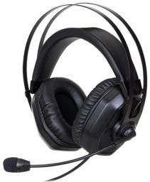Słuchawki z mikrofonem Cooler Master NAUSZNE COOLERMASTER MASTER PULSE CZARNE (MH-320)