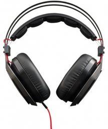Słuchawki z mikrofonem Cooler Master NAUSZNE COOLERMASTER MASTERPULSE Z MIKROFONEM PODŚWIETLENIE CZARNE (MH-750)
