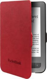 Pokrowiec PocketBook Shell do 614W/615/625/626 Bright Czerwone (JPB626(2)-RB-P)