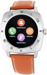 Smartwatch Xlyne Nara XW Pro Srebrno-brązowy  (54019)