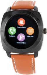 Smartwatch Xlyne Nara XW Pro Czarno-brązowy  (54012)